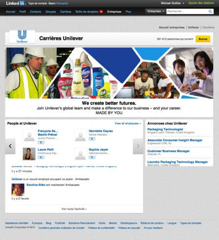 Unilever_LinkedIn